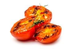 在烤以后的蕃茄 库存图片