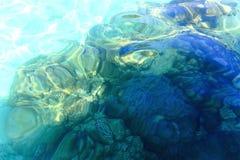 在热带气候的浅水区珊瑚 图库摄影