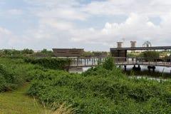 在煤斗haSharon公园,莎朗地区 免版税库存图片