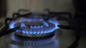 在煤气喷燃器的设置火 股票视频
