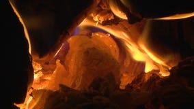 在熔炉的火 股票视频