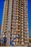 在爆破前的老大厦在莱米罗 免版税库存照片