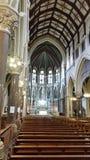 在爱尔兰教会里面 免版税库存照片