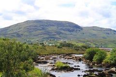 在爱尔兰的北部的横向 免版税图库摄影