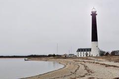 在爱沙尼亚海岛上的一些灯塔 图库摄影