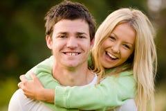 在爱的夫妇 免版税库存图片
