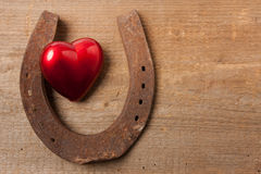 在爱的幸福 免版税库存图片