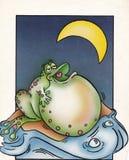 在爱的青蛙 免版税库存图片