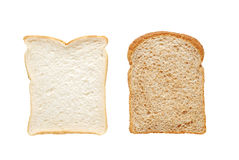 在片式上添面包 免版税库存照片