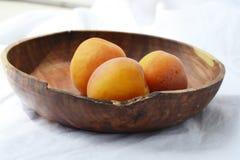 在牌照的杏子 库存图片
