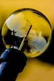 在特写镜头的电灯泡 免版税库存图片