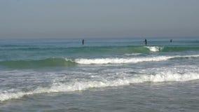 在特拉维夫,以色列附近的沿海 影视素材