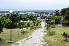 在特立尼达市,古巴的看法 库存照片