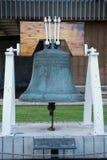在状态国会大厦的独立钟在檀香山 免版税库存照片
