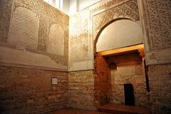 在犹太处所的犹太教堂科多巴,西班牙 图库摄影