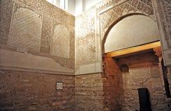 在犹太处所的犹太教堂科多巴,西班牙 免版税库存图片