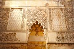 在犹太处所的犹太教堂科多巴,西班牙 库存照片