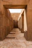 在狮身人面象开罗埃及下的柱子 库存图片