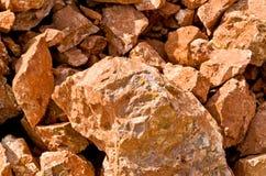 在猎物的石灰石 免版税库存图片