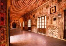 在王宫里面在印度 库存照片