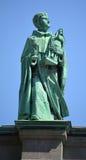 在玛丽,世界的女王/王后大教堂大教堂的雕象  库存照片
