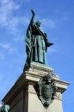 在玛丽,世界的女王/王后大教堂大教堂的雕象  免版税库存图片