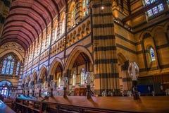在玛丽s st里面的大教堂 库存照片