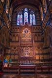 在玛丽s st里面的大教堂 库存图片