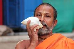 在玛哈Kumbh Mela的Sadhu 免版税库存照片