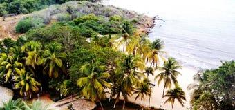 在玛格丽塔旅馆附近的海滩 免版税库存图片