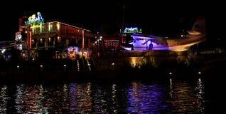在环球影业,奥兰多, FL的Margaritaville 免版税图库摄影