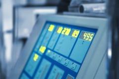 在现代诊所的特别医疗设备 免版税图库摄影