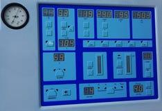 在现代诊所的特别医疗设备 免版税库存图片