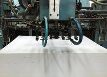 在现代打印的过程 库存图片