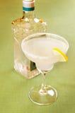 在玻璃的玛格丽塔鸡尾酒 库存照片