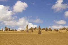 在珀斯附近的石峰沙漠 库存图片