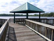 在瓦尔登湖湖公园 免版税库存图片