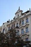 在瓦茨拉夫广场的大厦 免版税库存图片
