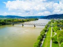 在瓦豪谷的Krems 免版税图库摄影