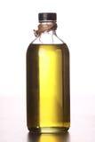 在瓶的橄榄油 图库摄影
