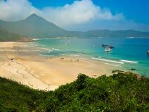在瓷北部香港的海湾 免版税库存照片