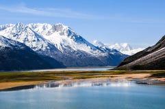 在瓷的美好的西藏风景 库存照片