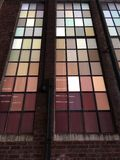 在生产线上限公园的窗口在newyork 库存图片