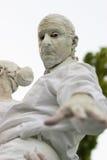 在生存雕象期间国际节日的雕象  免版税库存图片