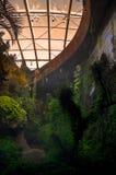 在生物圈的现代建筑学 库存图片