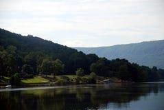 在田纳西河的宁静 库存图片