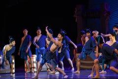 """在甲板舞蹈戏曲海丝绸Road† """"The梦想的狂欢节  库存图片"""