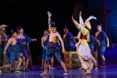 """在甲板舞蹈戏曲海丝绸Road† """"The梦想的狂欢节  库存照片"""