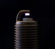 在电极之间的火花 免版税库存图片