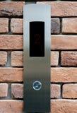 2在电梯按钮的地板 免版税图库摄影